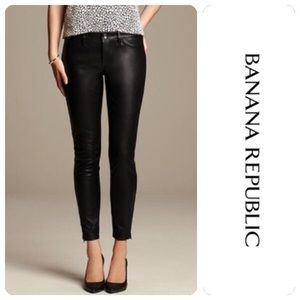 BANANA REPUBLIC Sloan Fit Faux Leather Skinny Pant